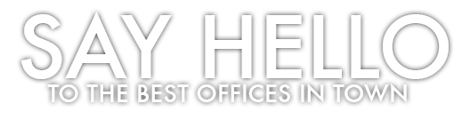 Say Hello to the Best Offices in Town